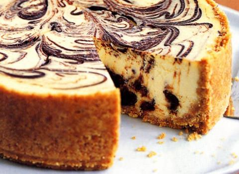 Baileys Marble Cheesecake All About Cuisines