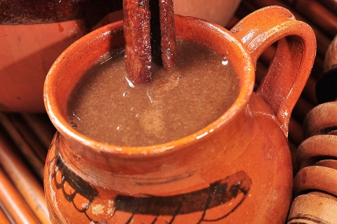 Champurrado A Mexican Thick Hot Chocolate Drink All
