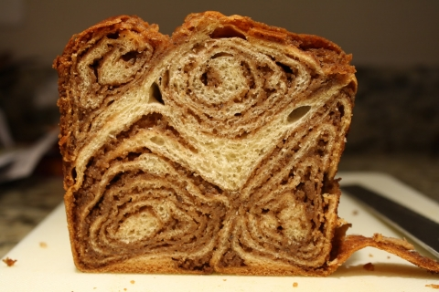 walnut bread chocolate walnut povitica a croation sweet walnut